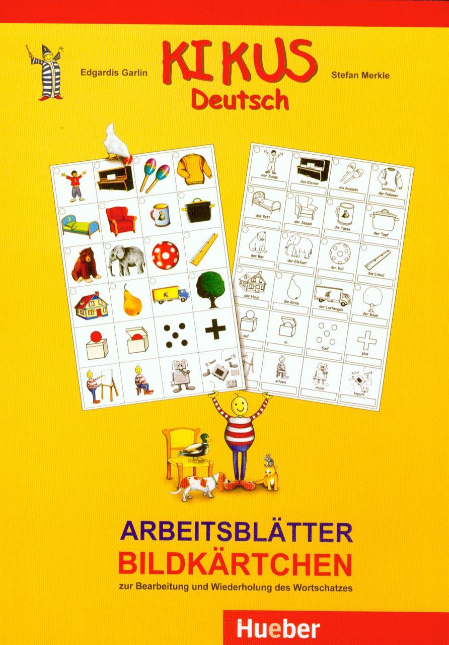 Arbeitsblätter Bildkärtchen zur Bearbeitung und Wiederholung des ...