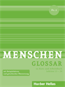 Εικόνα της Menschen A1.2 - Glossar zu Kurs- und Arbeitsbuch, Lektion 13 – 24 (Γλωσσάριο)
