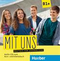 Εικόνα της Mit uns B1+ – Audio-CDs zum Kurs- und Arbeitsbuch
