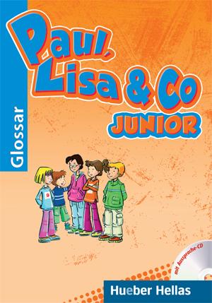 Εικόνα της Paul, Lisa & Co JUNIOR - Glossar mit Aussprache-CD (Γλωσσάριο με CD για τη σωστή προφορά των λέξεων)