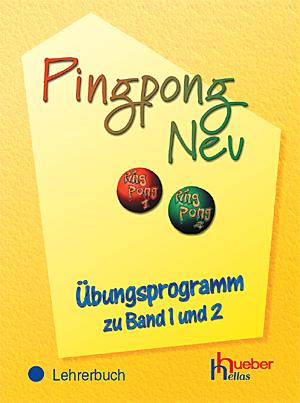 Εικόνα της Pingpong Neu - Übungsprogramm zu Band 1 und 2, Lehrerbuch (Βιβλίο του καθηγητή)
