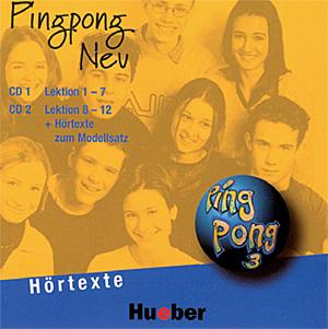Εικόνα της Pingpong Neu 3 - 2 CDs zum Lehrbuch (CD για το Βιβλίο του μαθητή)