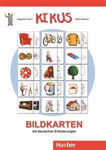 Bild von Bildkarten mit deutschen Erläuterungen