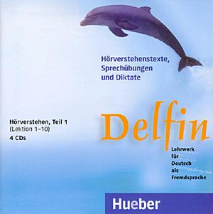 Εικόνα της Delfin Teil 1 - Hörverstehen , Lektionen 1-10, 4 CDs