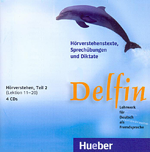 Bild von Delfin Teil 2 - Hörverstehen, Lektionen 11-20, 4 CDs