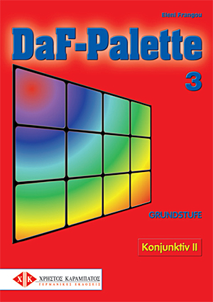 Bild von DaF-Palette 3: Konjunktiv II GRUNDSTUFE