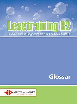 Bild von Lesetraining B2 - Glossar