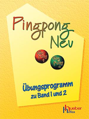 Bild für Kategorie Pingpong Neu - Übungsprogramm zu Band 1 und 2