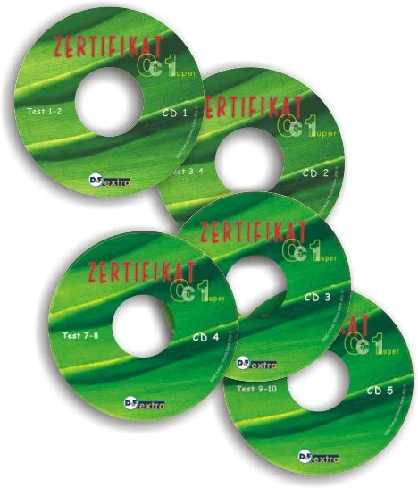 Bild von Zertifikat super C1 - 5 CDs