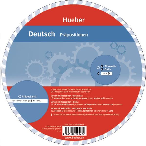 Bild von Wheels Deutsch - Präpositionen