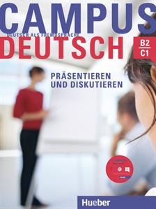 Bild von Campus Deutsch, Präsentieren und Diskutieren - mit CD-ROM