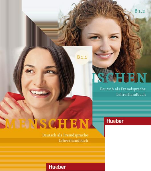 Εικόνα της Menschen - Paket Lehrerhandbuch B1/1 und B1/2 (Πακέτο με τα Βιβλία του καθηγητή Β1/1 και Β1/2)