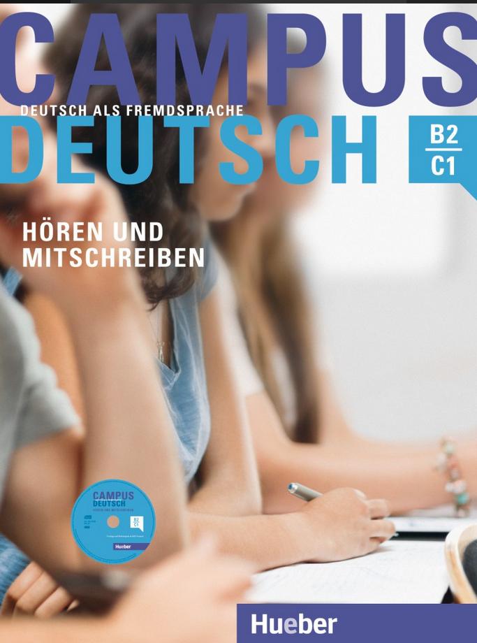 Bild von Campus Deutsch, Hören und Mitschreiben - mit Audio-CD in MP3-Format