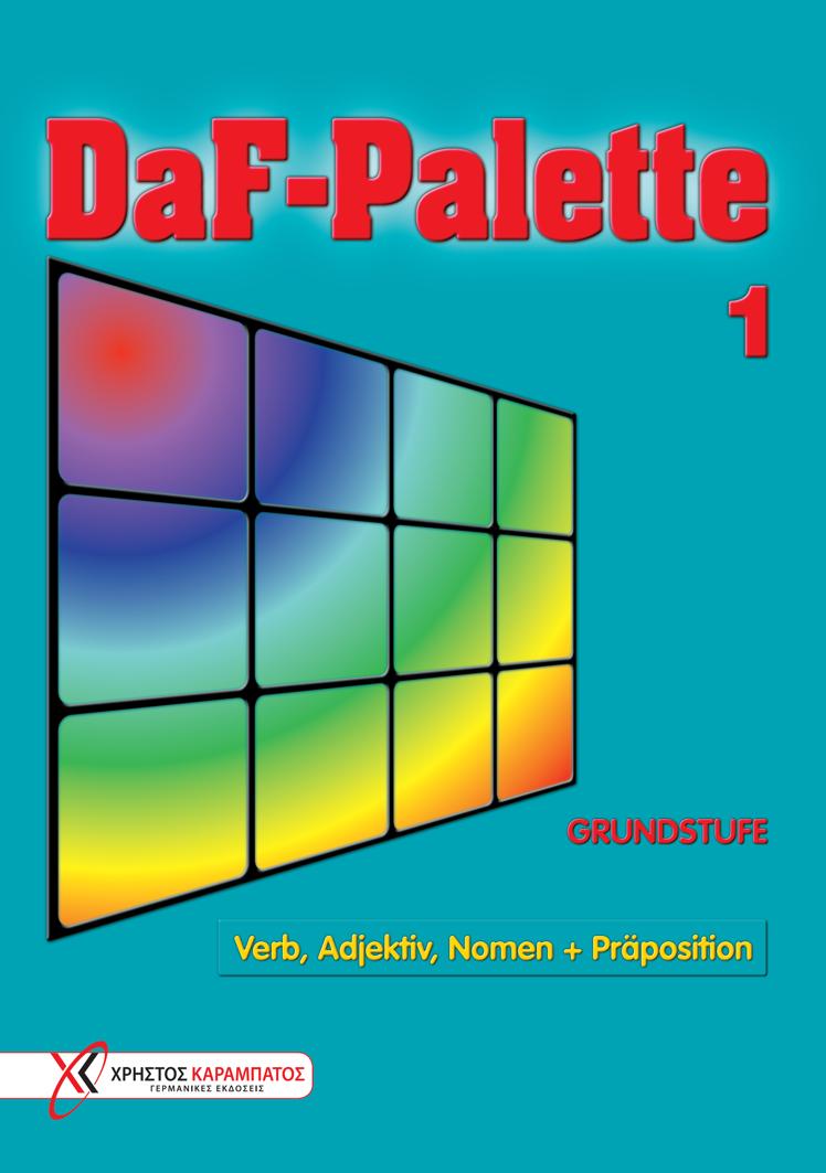 Εικόνα της DaF-Palette 1: Verb, Adjektiv, Nomen + Präposition GRUNDSTUFE