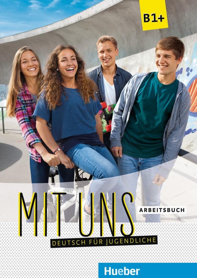 Εικόνα της Mit uns B1+ – Arbeitsbuch (Βιβλίο ασκήσεων)