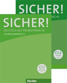 Bild von Sicher! Paket Lehrerhandbuch C1.1 und C1.2