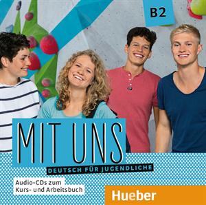 Bild von Mit uns B2 – Audio-CDs zum Kurs- und Arbeitsbuch