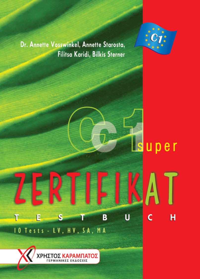 Zertifikat Super C1 Testbuch Karabatosgr