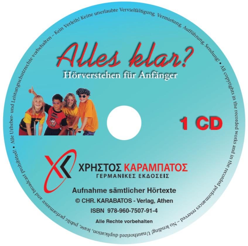Bild von Alles klar? - 1 CD