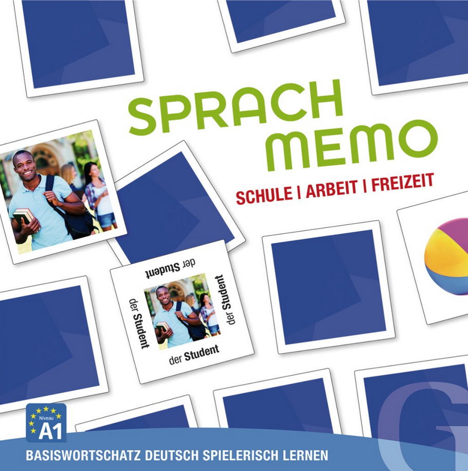 Εικόνα της Sprachmemo Deutsch - Schule, Arbeit, Freizeit