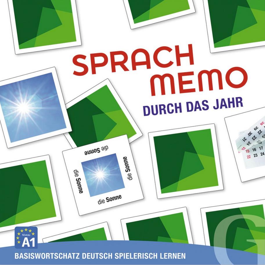 Εικόνα της Sprachmemo Deutsch - Durch das Jahr