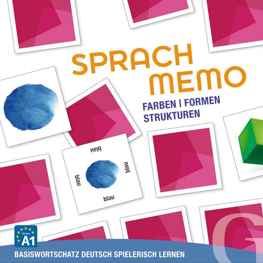 Bild von Sprachmemo Deutsch - Farben, Formen, Strukturen