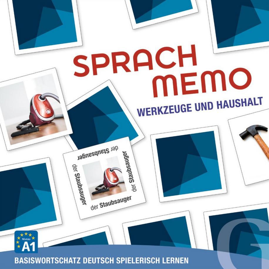 Bild von Sprachmemo Deutsch - Werkzeuge und Haushalt