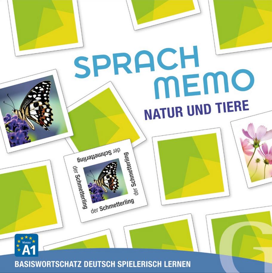 Εικόνα της Sprachmemo Deutsch - Natur und Tiere