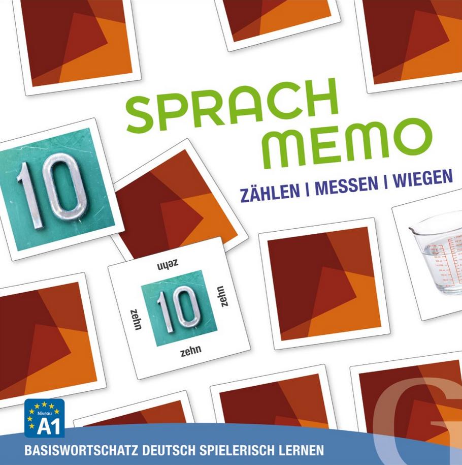 Εικόνα της Sprachmemo Deutsch - Zählen, Messen, Wiegen