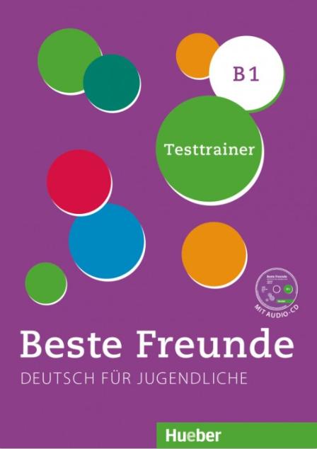 Bild von Beste Freunde B1 - Testtrainer (mit Audio-CD)