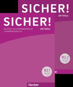 Bild von Sicher! aktuell B2 – Paket Lehrerhandbuch B2/1 und B2/2