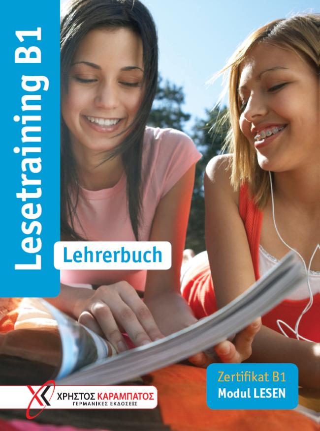 Εικόνα της Lesetraining B1 - Lehrerbuch (Βιβλίο του καθηγητή)