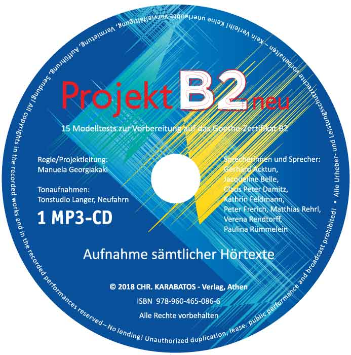 Bild von Projekt B2 neu - 1 MP3-CD