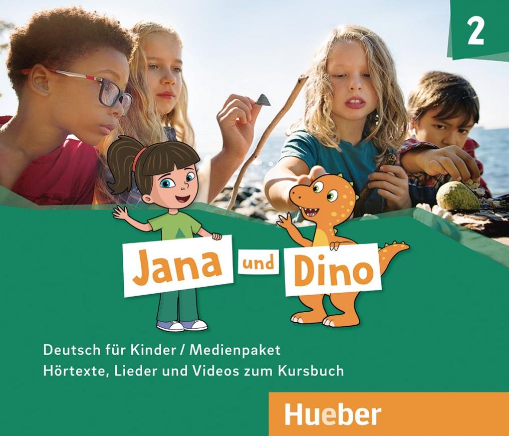 Εικόνα της Jana und Dino 2 - Medienpaket (Οπτικοακουστικό πακέτο)