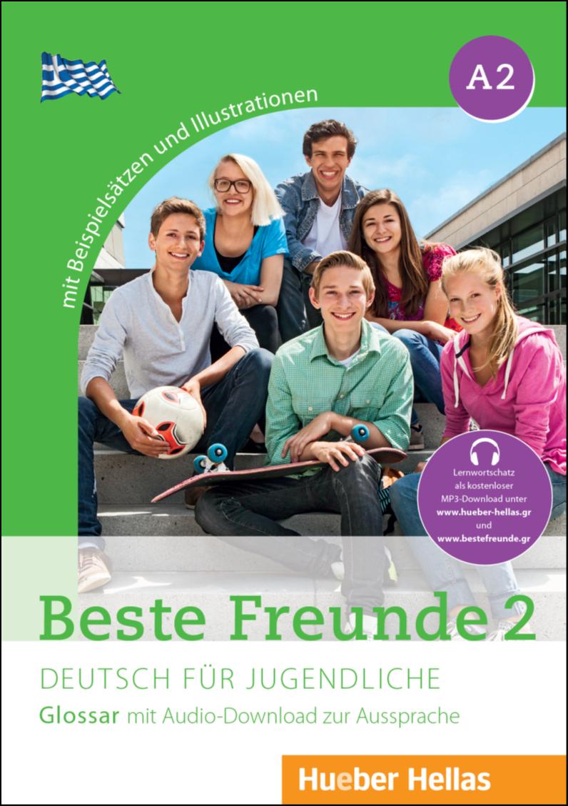 Εικόνα της Beste Freunde 2 - Glossar mit Audio-Download zur Aussprache (Γλωσσάριο με MP3-download για τη σωστή προφορά των λέξεων)
