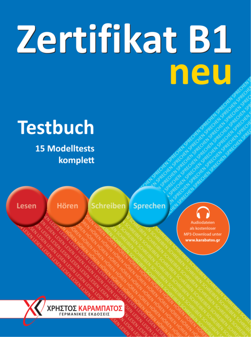 Bild von Zertifikat B1 neu - Testbuch