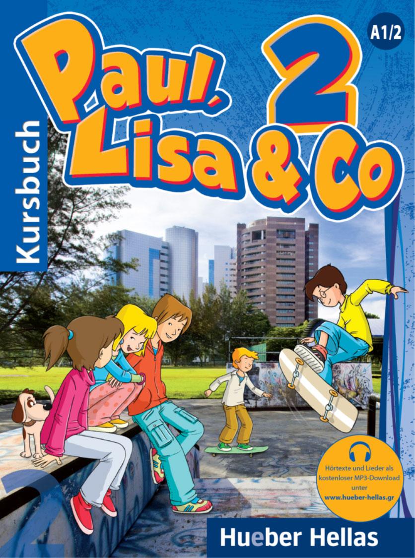 Εικόνα της Paul, Lisa & Co 2 - Kursbuch (Βιβλίο του μαθητή)