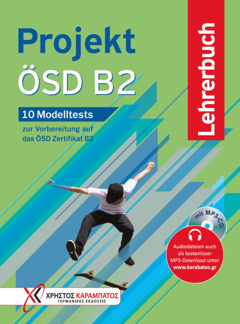 Εικόνα της Projekt ÖSD B2 – Lehrerbuch mit MP3-CD (Βιβλίο του καθηγητή με ενσωματωμένο MP3-CD)