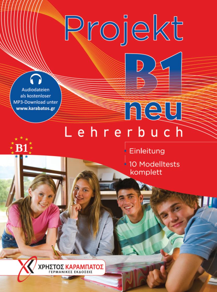 Εικόνα της Projekt B1 neu - Lehrerbuch (Βιβλίο του καθηγητή)