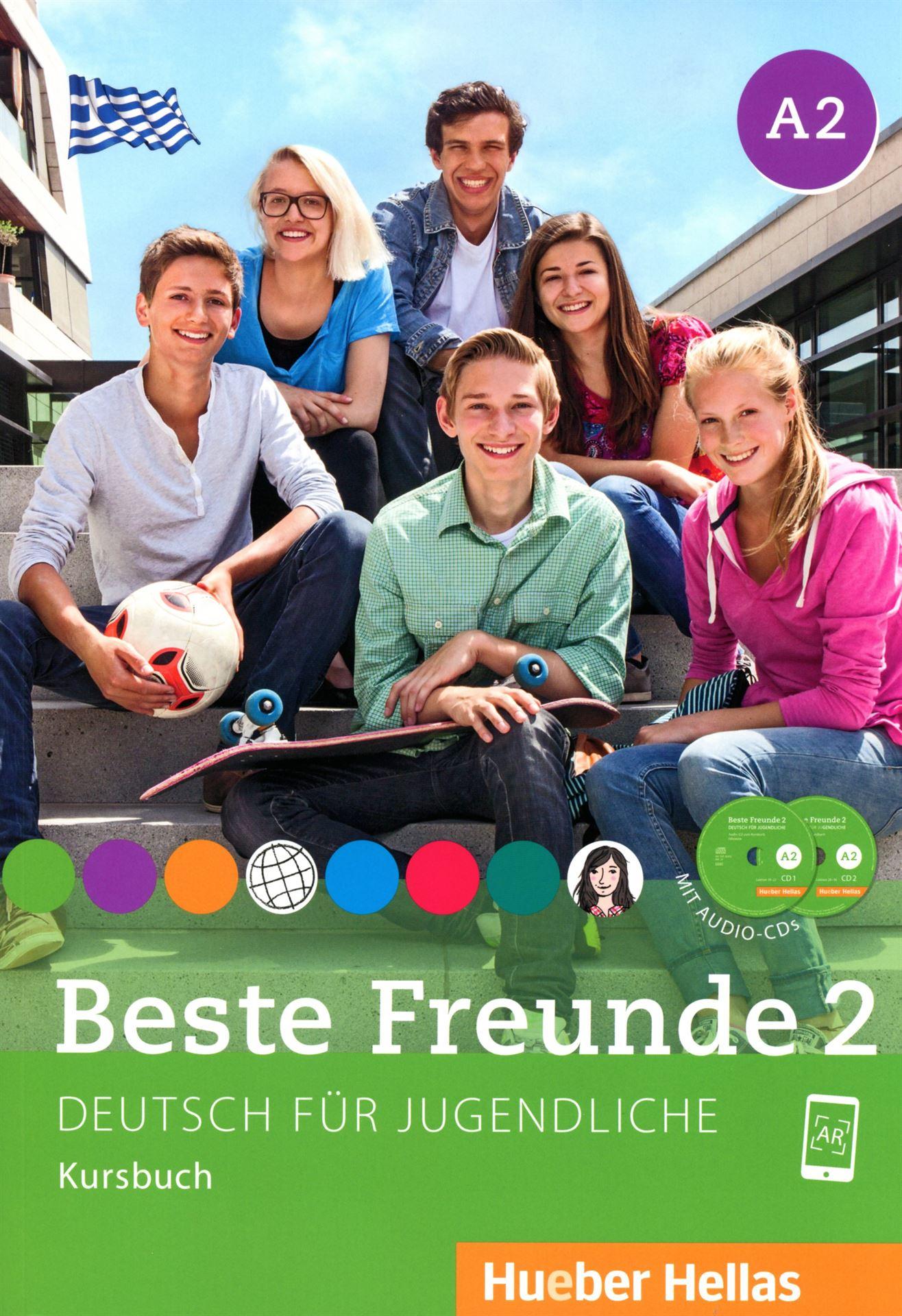 Εικόνα της Beste Freunde 2 - Kursbuch mit Audio-CDs (Βιβλίο του μαθητή με ενσωματωμένα ακουστικά cd)