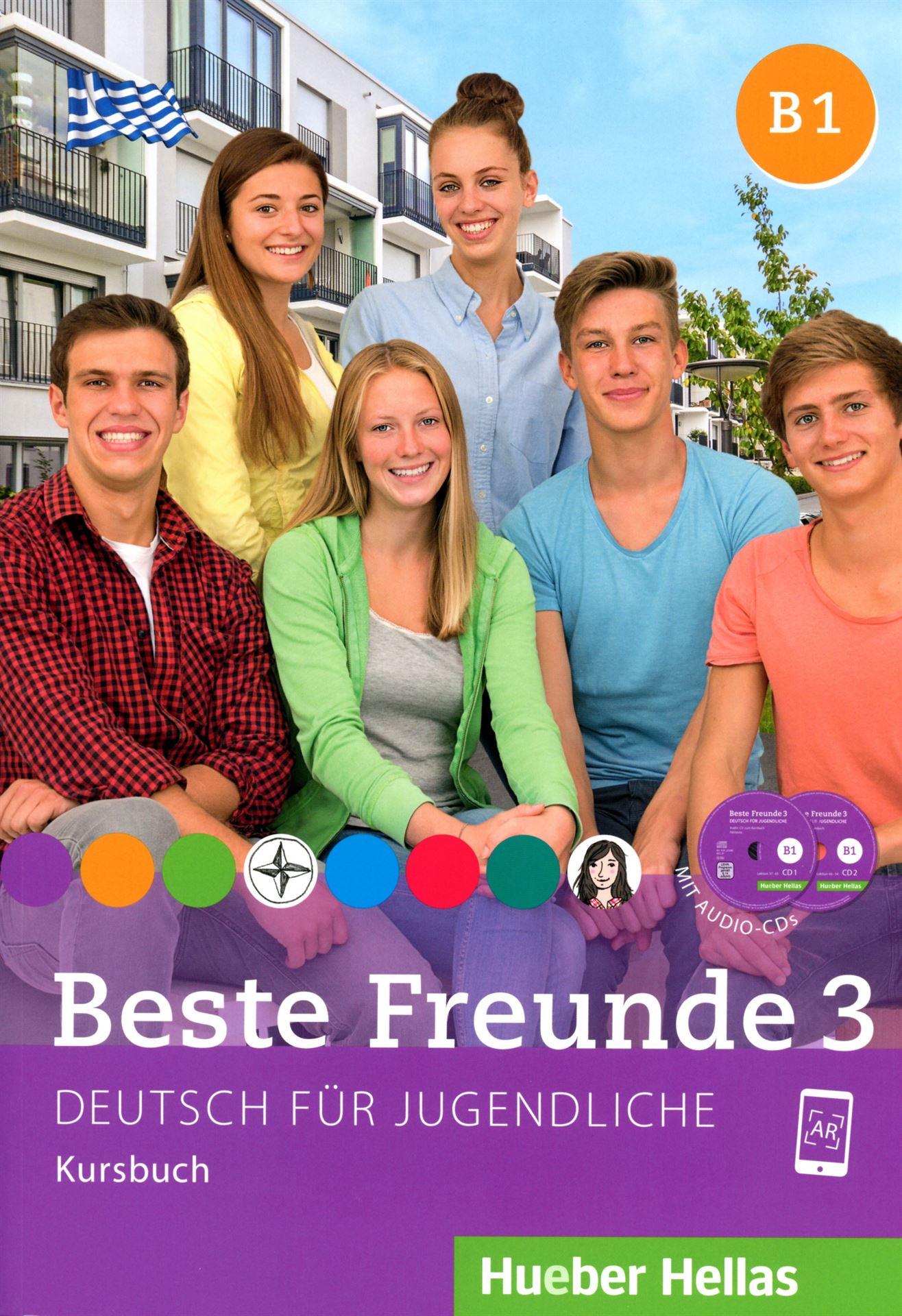 Bild von Beste Freunde 3 - Kursbuch mit Audio-CDs