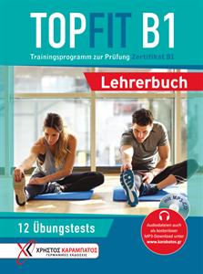 Bild von TOPFIT B1, Trainingsprogramm zur Prüfung Zertifikat B1 - Lehrerbuch mit eingelegter MP3-CD
