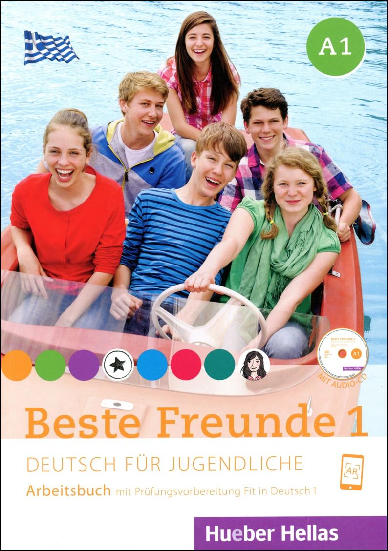 Bild von Beste Freunde 1 - Arbeitsbuch mit Audio-CD
