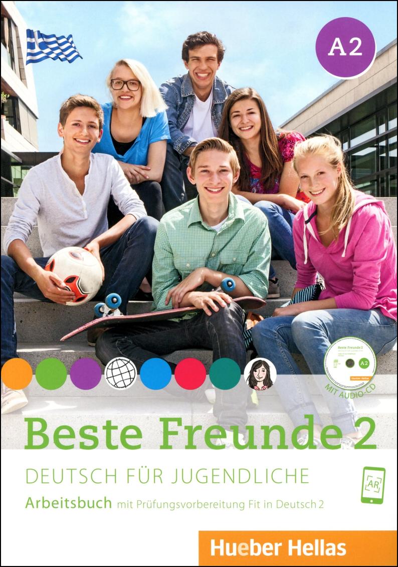 Bild von Beste Freunde 2 - Arbeitsbuch mit Audio-CD