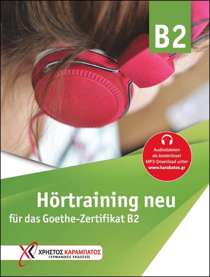Εικόνα της Hörtraining B2 neu für das Goethe-Zertifikat B2