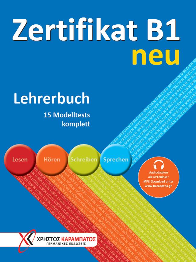Bild von Zertifikat B1 neu - Lehrerbuch